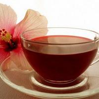 Цветок Гавайев и Малайзии, чай гибискуса
