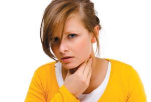 Ком в горле появляется из-за эмоционального состояния