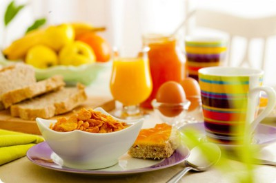 Продукты на завтрак, обед и ужин