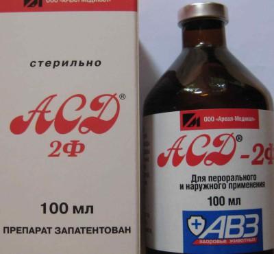 Описание препарата Фракция АСД-2