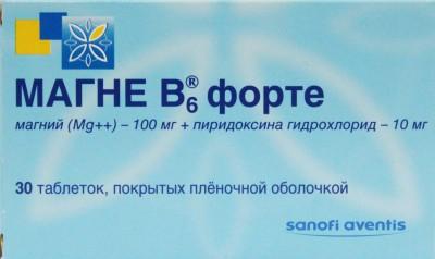 Применение препарата Магне В6