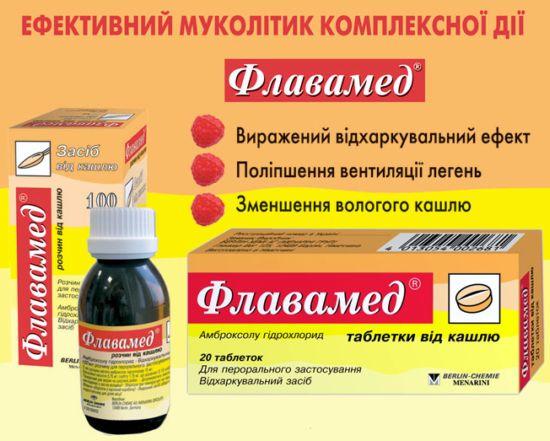 Эффективное лекарство Флавамед