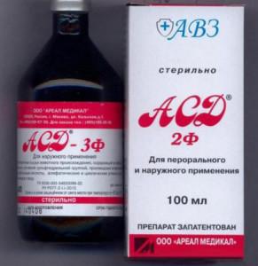 Антисептик-стимулятор Дорогова - противоречивый и загадочный препарат
