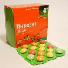 таблетки Пиковит