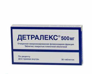 Препарат Детралекс оказывает действие на состояние вен человека