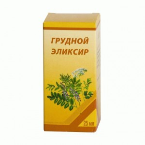 Грудной эликсир является препаратом с отхаркивающим эффектом
