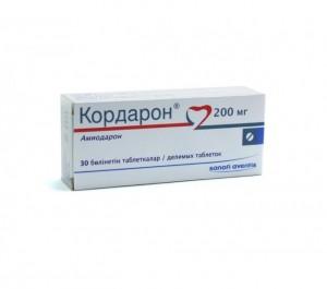 Препарат Кордарон проявляет действие как антиаритмик