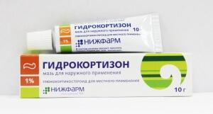 Гидрокортизоновая мазь применяется для лечения экземы