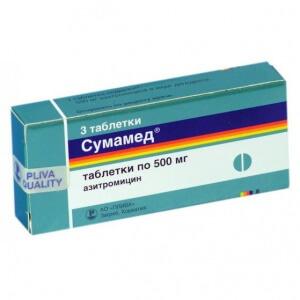 Сумамед является эффективным средством против ангины