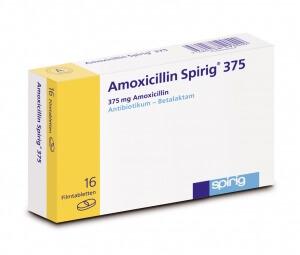 Амоксоциллин часто используется при ларингите