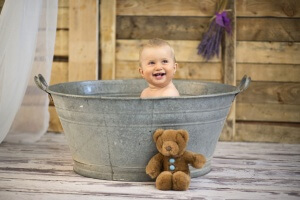 Детей полезно купать в воде с добавлением морской соли