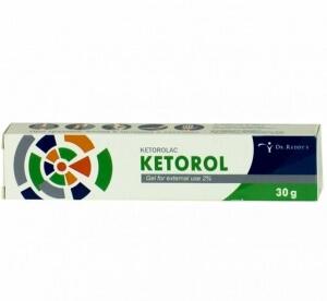 Кеторол гель содержит вспомогательные вещества
