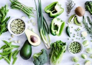 Щелочные продукты встречаются среди овощей