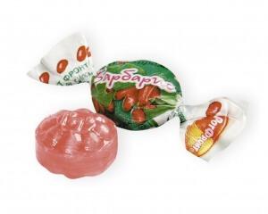 Конфеты барбариски изготавливаются с добавлением красителей