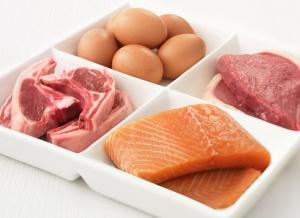 Рыба и мясо относятся к белковой пище