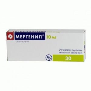 В препарате Мартенил активным веществом является розувастатин