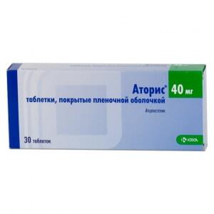 Препарат Аторис применяют для лечения гетерозиготной гиперхолестеринемии