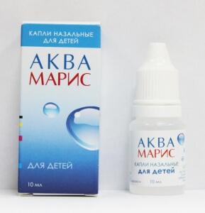 Капли Аквамарис делаются из воды Адриатического моря