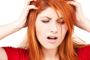 Заболевание может проявляться в виде уплотнений на голове
