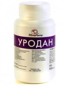 Лекарство Уродан способствует выведению мочевой кислоты
