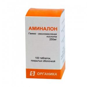 Препарат Аминалон назначается для лечения сосудистых заболеваний