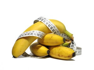 Банан считается высококалорийным продуктом питания