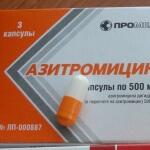 Форма выпуска Азитромицина: когда применяют данное средство?
