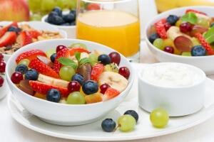 Детям рекомендуется есть больше овощей и фруктов