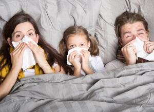 Дети часто страдают инфекционными заболеваниями