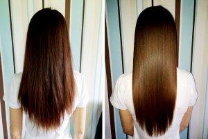 Волосы через пару месяцев регулярного применения настойки