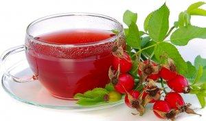 Отвар шиповника можно пить вместо чая