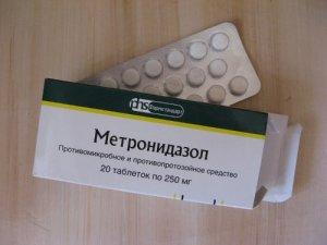 Метронидазол: применение