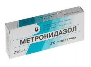 Метронидазол: особенности применения, противопоказания
