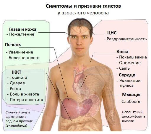 Паразитарные заболевания